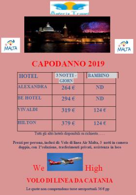 MALTA - CAPODANNO 2019